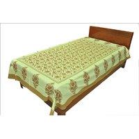 Designer Exclusive Floral Print King Size Single Bed Sheet SRB2114