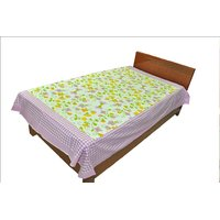Designer Exclusive Floral Print King Size Single Bed Sheet SRB2116