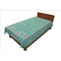 Designer Exclusive Ethinic Floral Print King Size Single Bed Sheet SRB2120
