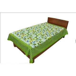 Designer Exclusive Ethinic Floral Print King Size Single Bed Sheet SRB2119