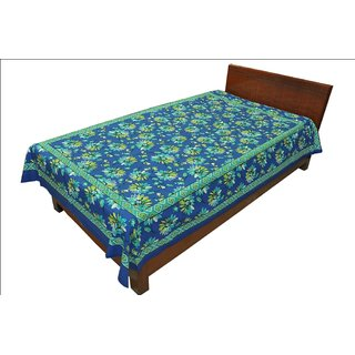 Designer Exclusive Ethinic Floral Print King Size Single Bed Sheet SRB2121