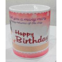 Birthday Coffee/ Tea Hot Ceramic Mug.
