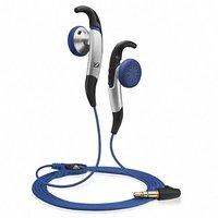 Sennhesier MX685 SPORTS In-Ear Headphones - Blue & Silver