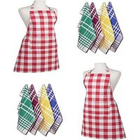 Combo Pack Of 2 Kitchen Apron And 6 Napkin