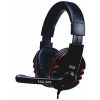 TAG Headphone With Mic USB-400 Wired Headset