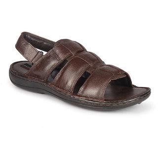 Leather King Men Sandals Japan Brown