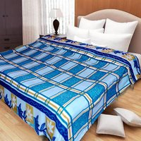 Sweet Home Super Soft And Stylish AC Blankets-Blue - 4108422