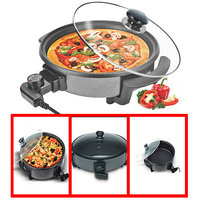 Electric Pizza Pan 32CM Japanese Style Non-Stick