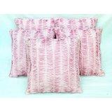 Rib Cushion Cover Light Pink(5 Pcs Set)