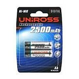 Uniross Ni-Mh 2500 Mah Aa Battery-Pack Of 2