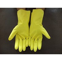 Acid Resistant Gloves Chemical Resistance Rubber Hand Gloves