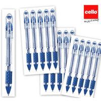 Cello Gripper Pen Set Of 15pc