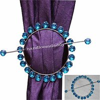 Combo Pack Of 2 Round Shape Curtain Holder