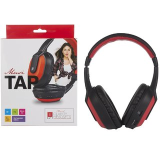 IBall Musi TAP Wireless Bluetooth Headphone (With Micro SD Slot FM and AUX)