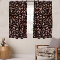 Combo Pack Of 2 Eyelet Window Curtain - Wbb02