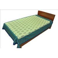 Designer Exclusive Floral Print King Size Single Bed Sheet SRB2136