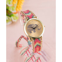 Fashion Elephant Watches Hand Made Fabric Band WOMEN,GIRLS AND LEADISH by miss