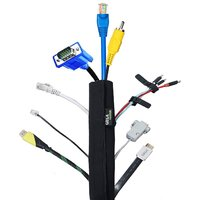 Cable Organiser - Manager, Gizga Essentials Cord Management System for PC , TV, Home Theater, Speaker, HDMI  Cables