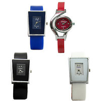 GLORY 4 PIECES COMBO WATCH FOR WOMEN by miss