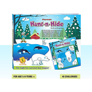 Playmate Hunt N Hide Ice and Water animals. Age 5 to 8 Years +
