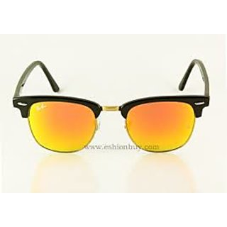 Sunglasses Clubmaster Orange Mirror