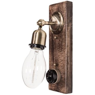 Fos Lighting Retro Switch Single Wall Sconce