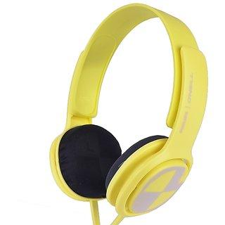 Philips SHO3300BEACH O Neill Cruz Headband Headphones w/3.5mm Jack (Yellow)