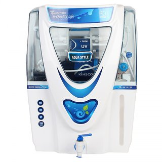 Kinsco Aqua Style 15 L Ro+Uv+Uf+Tds Adjuster Water Purifier