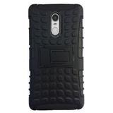 Lenovo K6 Note DEFENDER BACK COVER Armor black case with kickstand Defender Tough Hybrid Armour Shockproof
