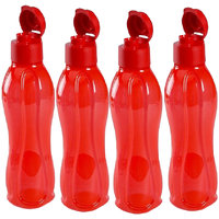 Y2K 1000 ml Plastic Water Bottle - Pack of 2, Multicolor