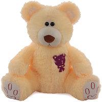 Acctu Peach Rock Bear Big Soft Toy