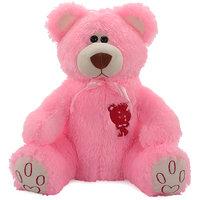 Acctu Pink Rock Bear Big Soft Toy