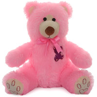 Acctu Pink Rock Bear Small Soft Toy