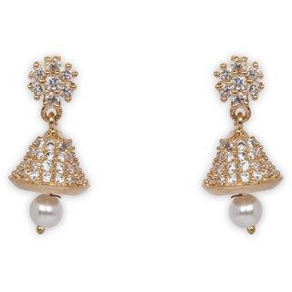 The Enchanted Cubic Zircon Drop Earrings-016