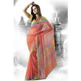 Bollywood Designer Printed  Saree with Blouse