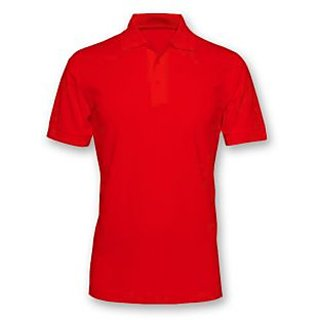 Premium polo t shirts 3 combo offer red white for Premium plain t shirts