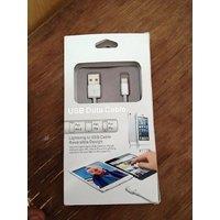 USB Data Cable For Apple IPhone 5 / IPod Touch 5 / Nano 7 / IPad Mini