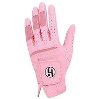 HJ Ladies Fashion Golf Glove Bubble Gum Large Left