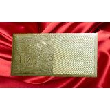 Gold Plated Envelopes - 25 Envelopes @ Rs. 1000/- Only