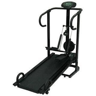 Lifeline 4 In 1 Manual Treadmill , Jogger Twister Stepper P. Bars