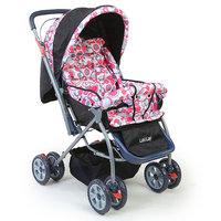 Luvlap Baby Stroller (StarShine) 99-1 Light Red