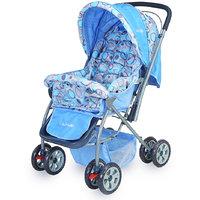 Luvlap Baby Stroller (StarShine) 99-1 Sky Blue