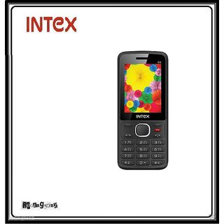 Intex Lions G2 Dual Sim Mobile Phone - Wireless FM - Black @ Best price.