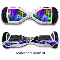 Self Balancing Scooters Skins Hover Electric Protective Boards Stickers Skate Board Vinly Decals for Two Wheel Self Balance Board - Neon Splatter