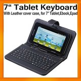 "7"" Black Cover Case USB keyboard for android tablet (Brand New) Ipad Tablet MID"