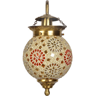 Fos Lighting Tilak Golden Globe Wall Sconce