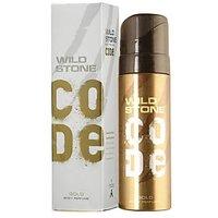 Wild Stone Code Gold Body Perfume Spray For Men 120 ml