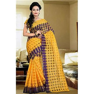 Indian Beauty Multi Cotton Saree