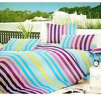Jojo Designs Fortune Double Bed Sheet Set (3Pcs) In Multi (Design 6)