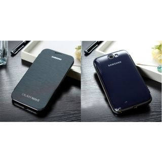 Samsung Flip Cover for Galaxy Note 2 N7100   dark blue available at ShopClues for Rs.99